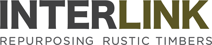 Interlink - re-purposing rustic timbers logo